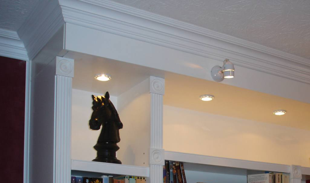 Office Guest Room Ideas That Give You More Bang For Your Us Buck: Crown Moulding Installed