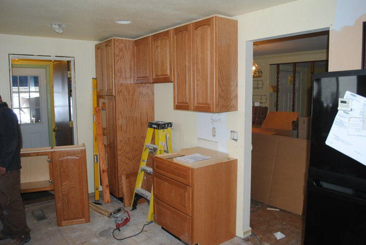 kitchen cabinet installtion installation cost time
