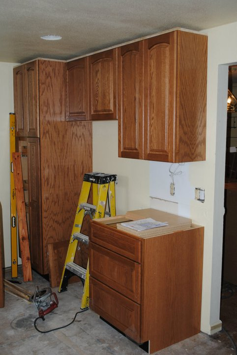 kitchen cabinet installation remodel cost time
