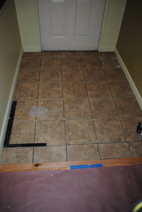tile entry floor remodeling remodel cost time