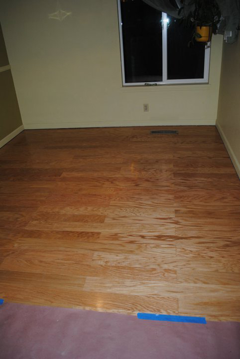 hardwood flooring dining room remodel cost time