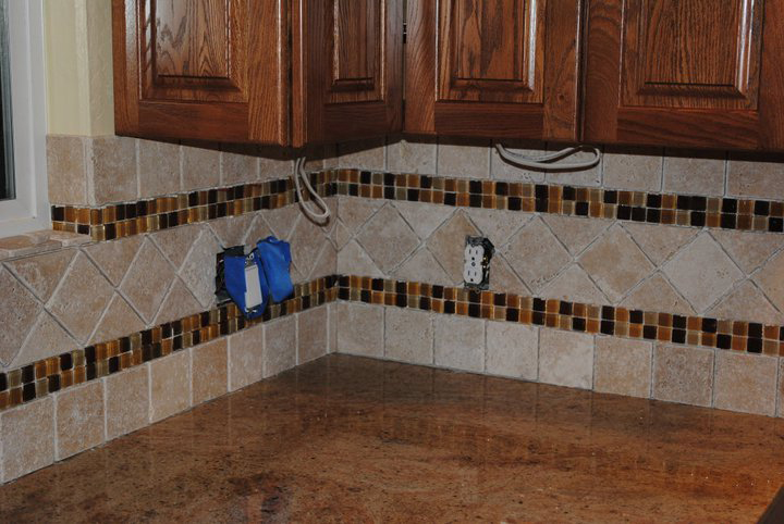 tile ceramic backslpash mosaic cost time