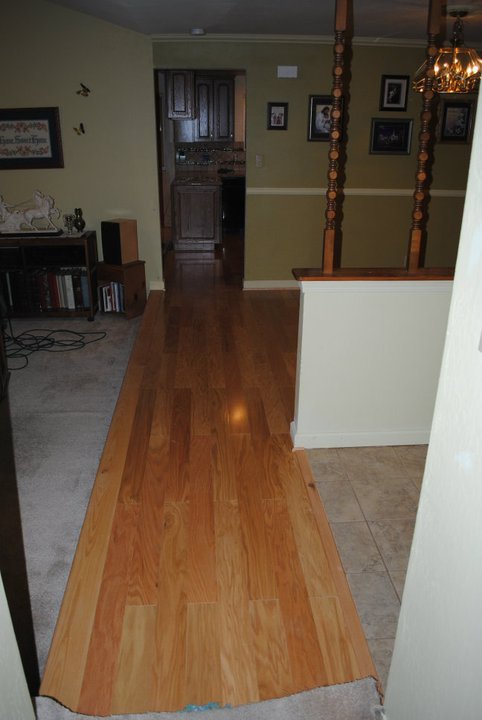 hardwood flooring install cost time