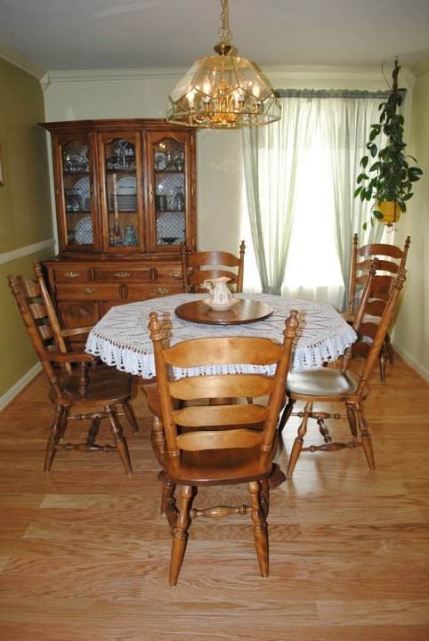 hardwood flooring dining room cost time
