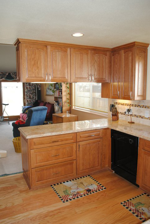kitchen diary remodel less than 30 days