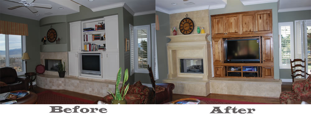 Custom Cabinets Construction Remodeling Remodel Bath Kitchen Furniture Fireplace