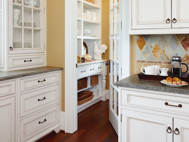Painted Custom White Cabinets Remodel Reno